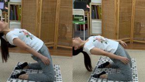 フラダンスのバックベンドに必要な体の流れ