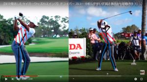 ゴルフスイング時の筋肉と骨の使い方