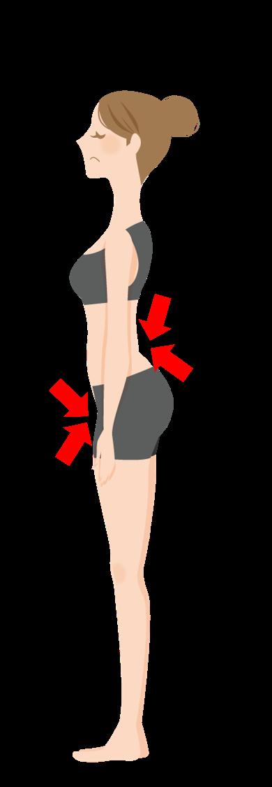 腰の硬さを解消し、冷えむくみなどに効果的な体操