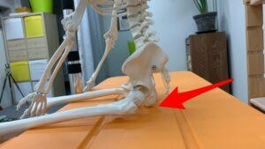 開脚して骨盤の立て方がわからない人は、まずはイスを使おう!
